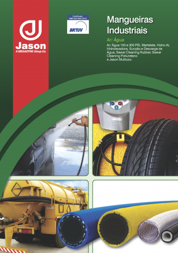 Catálogo de mangueiras industriais - Ar-Agua